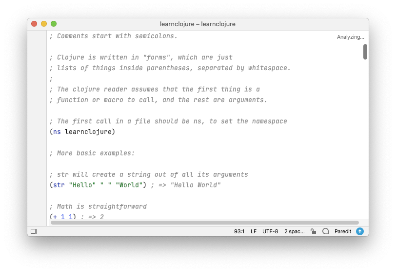 Cursive: User Interface